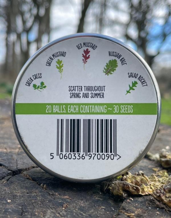 Seedball - Salad Mix (back)