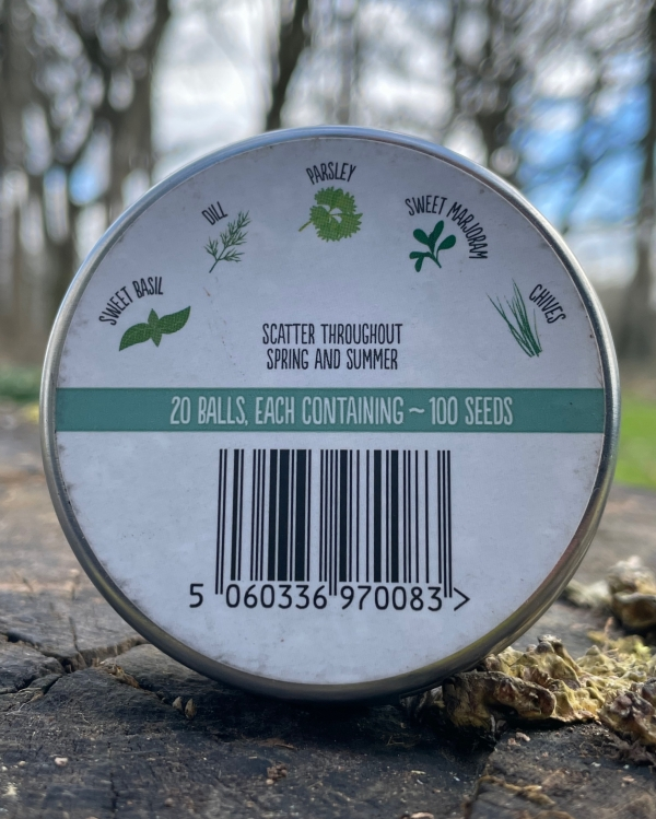 Seedball - Herb Mix (back)
