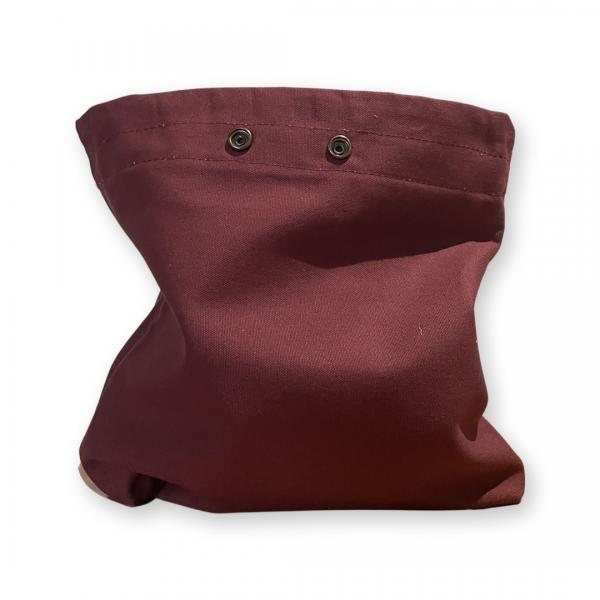 Burgundy Foraging Bag