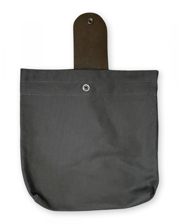 Charcoal Foraging Bag (Pictured in Leather Band)